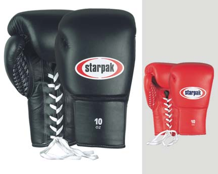 Professional Boxing Gloves from Starpak - 1 Pair
