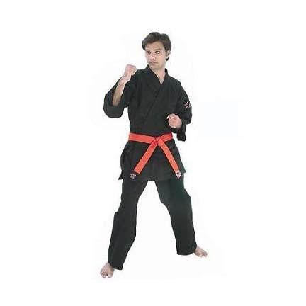 "Black ""Oki"" Karate Uniform (Size 7) from Starpak"