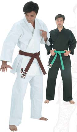 Black Student Karate Uniform (Size 6) from Starpak
