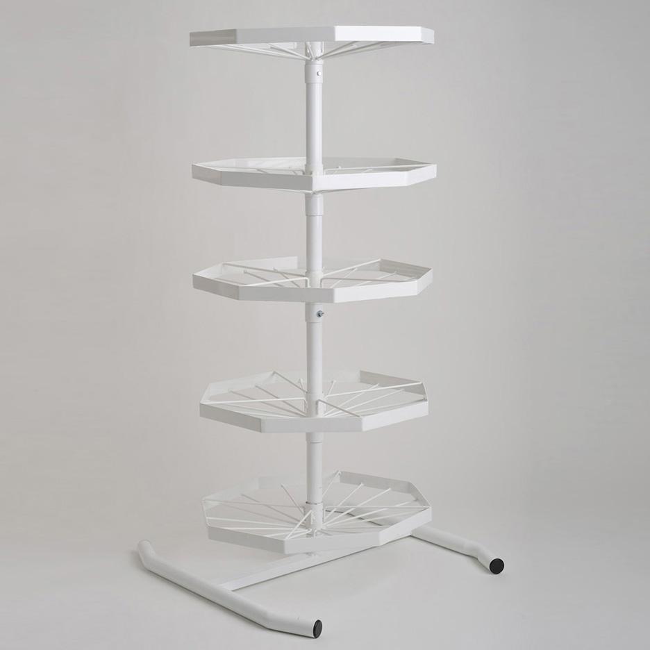 5 Tier Swivel Tree Pro Storage Rack