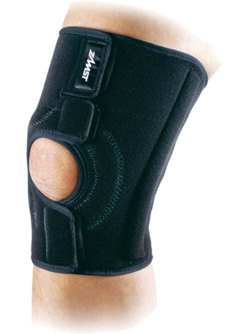 MK-3 Medium Length Wrap-Style Knee Brace from ZAMST (Medium)